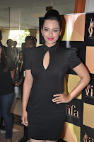 Sonakshi Sinha Spotted in a Stunning Black Gown at IIFA Award Show